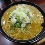 みずく - カレーらーめん(太麺)