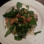 バルデビス - 真鯛とからすみのカルパチョ