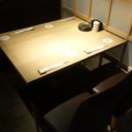 越前若狭 鯖街道 - ☆テーブル席(*^。^*)☆