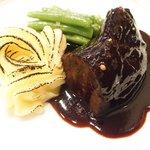 47567306 - ランチコース 2900円 の和牛ほほ肉の赤ワイン煮
