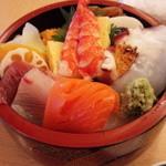 おひげ寿司 - ランチちらし寿司\1,050