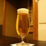 柏屋 大阪千里山 - 生ビール