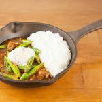 野菜を食べるカレーcamp - アスパラベーコンカレー