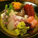 旭寿司 - お造り盛り合わせ