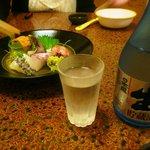 旭寿司 - お酒辛口(日本盛 吟醸)