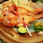 旭寿司 - キンキ塩焼き