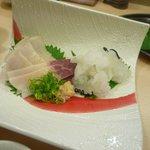 旭寿司 - 鯨ベーコン&おばけ