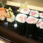 旭寿司 - 赤貝、トロ鉄火