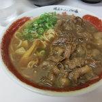 ラーメン東大 - 肉入りラーメン(700円)