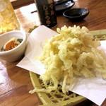 満マル - さきいか天ぷら¥350