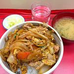 中華 八十番 - 徳丼500円!