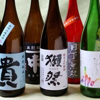 炉端 小次郎 - 山口の地酒を中心に20種以上の日本酒を常備