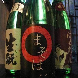 多彩な焼酎・日本酒をご用意して、お待ちしております☆