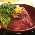 神保町ビーフ - ローストビーフ丼(並) 850円
