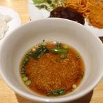 47575478 - かき玉スープ風の味噌汁が旨かった!                       こういうのがオリジナルってうれしいですね。
