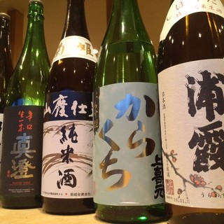 季節ごとに選び抜いた日本酒