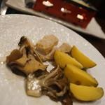 バッカス ミート カフェ - ラクレット野菜