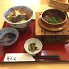 大阪うどん きらく - 料理写真:王寺釜飯定食…牛肉選び