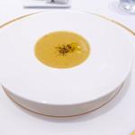レストラン シャルム - 13種の野菜ポタージュ