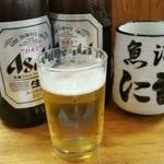 にし与 - アサヒ中瓶