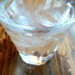 スパゲティーnokishita - お水です。