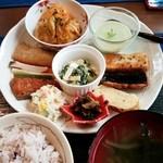 cafe 木もれび - ワンプレートランチ 750円 2016/02