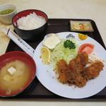 東都グリル - かきフライ定食