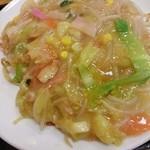 リンガーハット - □皿うどん(太麺) 730円(内税)□のアップ。