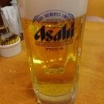 リンガーハット - □生ビール 290円(内税)□