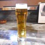 炭火焼肉ノぶる - 生ビール
