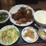 47588659 - 甘酢鶏定食 700円