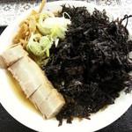 麺屋酒田inほなみ - 岩のりラーメン 700円