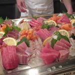 六本木 福鮨 - 立食パーティーのお刺身盛合せ