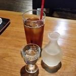 山の神 - お酒は「天の戸 一合 (850円)」です