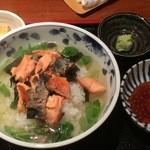 めしの助 - 鮭茶漬け