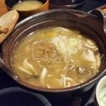 山の神 - 麺が固めなところが嬉しかった「ほうとう」