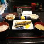 ひさまつ喰彩 - 「本日の焼き魚定食(焼きサバ)、玉子焼き、小鉢付き」 920円
