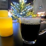 うめだ阪急ビアガーデンマルシェ - ホットビール¥500
