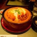 47598605 - 豆腐かつ煮定食