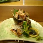すし屋の笹勘 - ツマまで美味しい細工