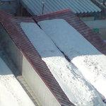 らーめん山頭火 - 雪が溶けて流れる構造の北海道の屋根。(お店とは無関係)