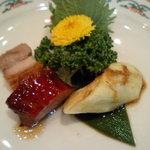 広東名菜 赤坂璃宮 - 本日の焼き物入り前菜盛り合わせ