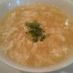 広東名菜 赤坂璃宮 - 冬瓜と春雨入りとろみスープ