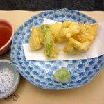 菊水 - ハモの天ぷら