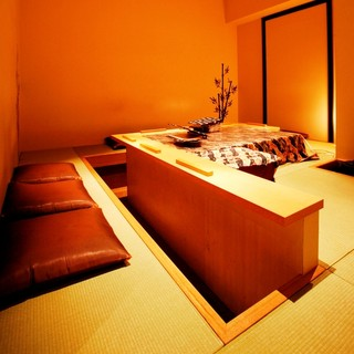 1席だけの茶室をイメージした個室