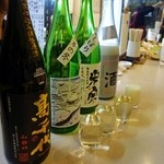 47602176 - 日本酒4種類注文