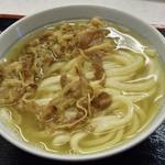 めりけんや 高松駅前店 - 肉うどん 小  410円