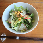 ふたばカフェ - 自家製野菜たっぷりサラダ