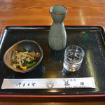 花子茶屋 藤田 - 料理写真:お酒 一合(440円)