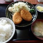 興ちゃん亭 - コロッケ定食